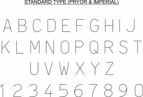 Lowstress Steel Type Font Style