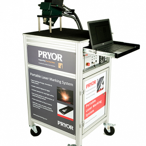 Pryor portable laser marking machine